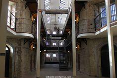 Cork Gaol czyli muzeum więzienie w Cork oraz dziwne spotkania. Frankfurt, Cork, Corks