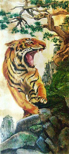 Tiger by Butch Belair