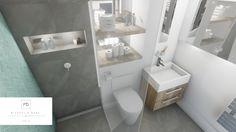 Contemporary modern bathroom design by MiD Interior Design And Graphic Design, Modern Bathroom Design, 3d Rendering, Modern Contemporary, Bathtub, Standing Bath, Bathtubs, Bath Tube, Modern Bathrooms