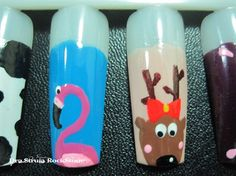cutie nails from http://nailartgallery.nailsmag.com/