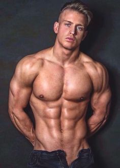 Male Model, Good Looking, Handsome, Beautiful Man, Guy, Dude, Hot, Sexy, Eye Candy, Muscle, Hunk, Abs, Six Pack, Shirtless 男性モデル #sixpackabs