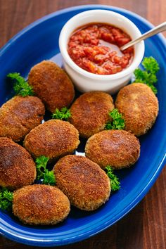 Buckwheat and Mushroom Croquettes have a crisp exterior and hearty, flavorful center. You won't be able to stop at just one! Serve with your favorite sauce.