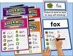 Read & Write Phonics Practice Boards at Lakeshore Learning