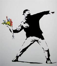 Banksy's stencil art is simply amazing