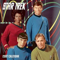 star trek original series | Star Trek: Original Series 2007 Wall Calendar, Star Trek Calendar