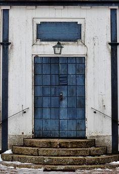 Blue Door The Capel of Djurhult