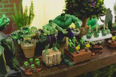 Festa de 1 ano do Davi que aconteceu em Águas Claras, tema Hulk | Douglas Roberto Fotografia | Brasília 2016