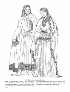 Idade Média Românica, vestuário