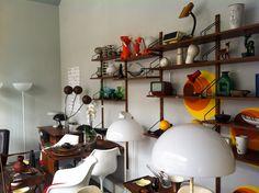 Vintage Shop interior  De Aap.