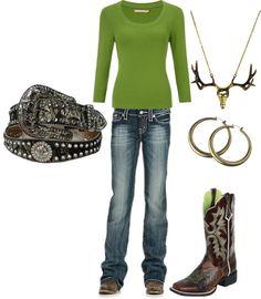 """Country Girl"" by ashleyelliott-1 on Polyvore"