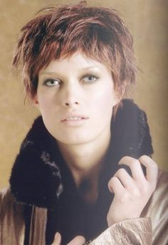 Audrey tautou, Coiffures and Coupe on Pinterest
