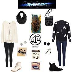 Candor winter clothing Divergent