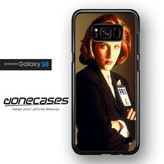 Agent Dana Scully FOR SAMSUNG GALAXY S8 CASE