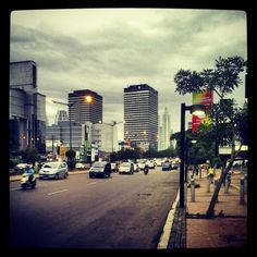 Jakarta on weekend not much crowded