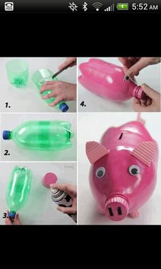 I love this idea! BUYING a piggy bank sort of defeats the purpose.