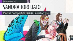 Pintura. Fiesta instantánea de SANDRA TORCUATO. Pintura compartida desde Castellón (ESPAÑA). Leer más: http://www.colectivobicicleta.com/2013/11/Pintura-de-SANDRA-TORCUATO.html