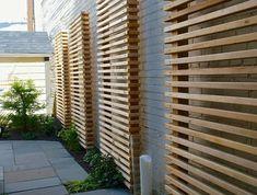 28 interesting privacy ideas for the garden! Outdoor Rooms, Outdoor Gardens, Outdoor Decor, Garden Privacy Screen, Terraced Landscaping, Contemporary Garden Design, City Farm, Design Jardin, Home Garden Plants
