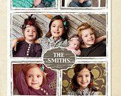 Blog Board & 16x20 Collage Template - Grunge frames - E254