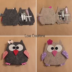 Gufi Big Shot, Diy Projects To Try, Craft Projects, Animal Templates, Christmas Origami, Felt Cat, Origami Tutorial, Diy Home Crafts, Felt Animals