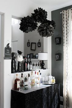 Over the hill party! All my friends are turning the dirty thirty :) Black and Gray Decorating Palette