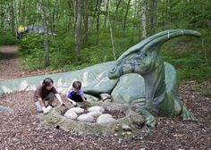 The Dinosaur Place at Nature's Art Village, Oakdale Writing Prompts For Kids, Picture Writing Prompts, Writing Area, Writing Process, Writing Pictures, Art Village, New England Travel, Images Google, Writing