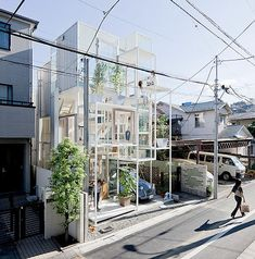 Transparent house, Tokyo
