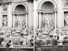 Engagement Pre Wedding Newly Wed honeymoon Photography Session Rome Trevi Fountain Pincio Terrace Villa Borghese Spanish Steps Saint Angel's Castle Saint Peters ROSSINI PHOTOGRAPHY