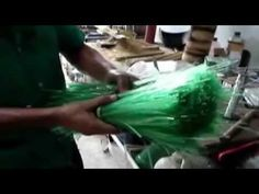 Business idea; How to make a broom from plastic bottles. - YouTube