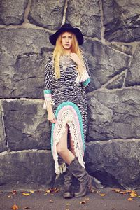 Boho Zebra Dress