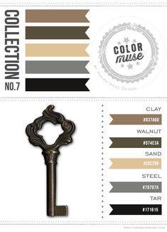 brown black tan neutral