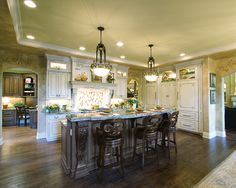Luxury Kitchen| Plan 065S-0034 | House Plans and More