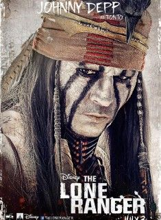 Maskeli Süvari – The Lone Ranger izle