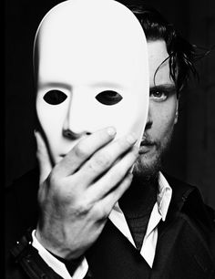 Jack O'Connell Portrait Hunger The Fearless by Rankin. One Eye Symbolism and alter Persona