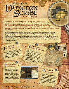 DungeonScribe, campaign creation made easy! I have to have this!