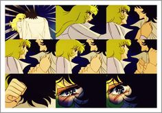 """Picspam: """"A rose will always be a rose"""" - Oscar/Andre - Rose of Versailles: undianormal"""