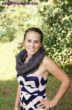 www.RAKJpatterns.com, cozy cowl FREE crochet pattern, cowl pattern