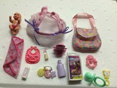Happy Family Barbie baby Newborn