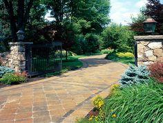 Paver Driveways, Driveway, Driveway Pavers, Pavingstone Driveway, Landscape Design, Pavingstone, Pavers, Hardscape, Outdoor Living, NJ