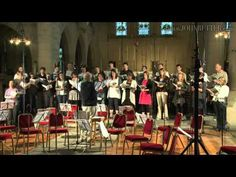 """For a taste of John Rutter's newest album, A Song in Season, listen to the song they sing in this video. It is called """"Look to the Day"""" and is so pretty!"""