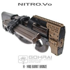 New Year Limited Edition P90 Armored Rail | Popular Airsoft