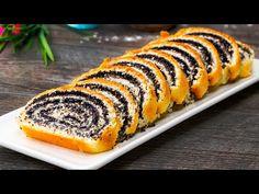Takto připravovala makový dort moje babička| Chutný TV - YouTube Sushi, Ethnic Recipes, Romania, Food, Youtube, Backen, Poppy Seed Cake, Weight Loss, Meal