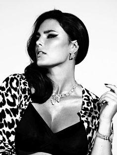 """Candice Huffine para a revista espanhola """"S Moda"""""""