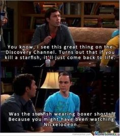 funny big bang theory, spongebob