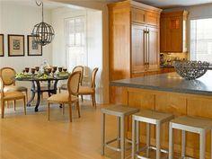 Open Contemporary Kitchen By Kathleen Hay On HomePortfolio
