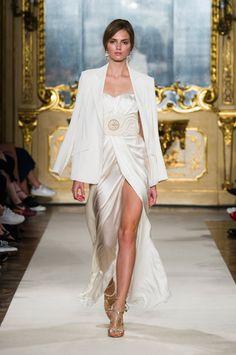 Elisabetta Franchi White Dress and Jacket