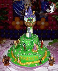 Rapunzel cake — Children's Birthday Cakes