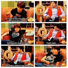 Drake and Josh- the best show of the early 2000's.