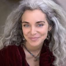 Image result for going grey and loving it