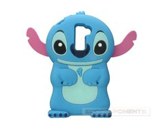 Newest Blue 3D Cute Lilo Stitch Silicone Soft Gel Case Cover Skin For LG G2