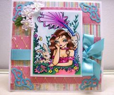 Sweet Pea Stamps by Angela Sowell - Cards and Paper Crafts at Splitcoaststampers